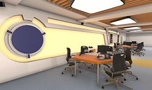 航空发动机装配与试车虚拟仿真实训室