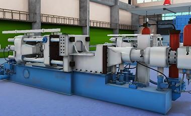 金属高压铸造技术的虚拟仿真实验