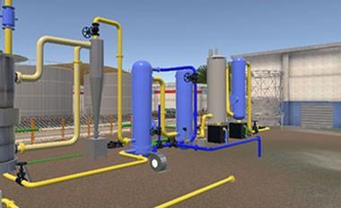 生物质燃气制备过程参数控制与目标反演虚拟仿真实验