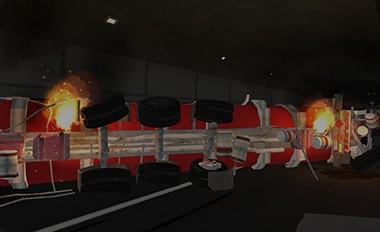 公路隧道运营安全虚拟仿真实验