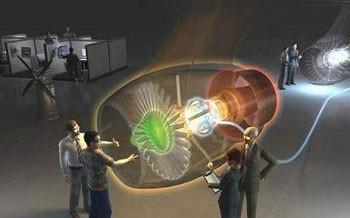 航空发动机控制及排放虚拟仿真实验系统
