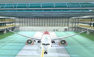 多电飞机供电管理与故障重构虚拟仿真实验