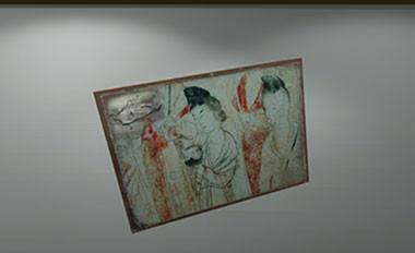 古代壁画修复虚拟仿真实验