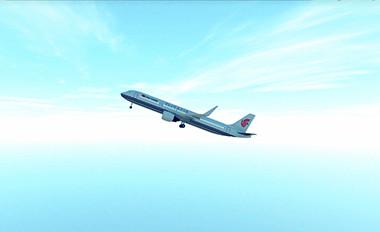 大型飞机结构动特性测试虚拟仿真实验